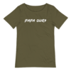 T-shirt PAPA OURS vert olive