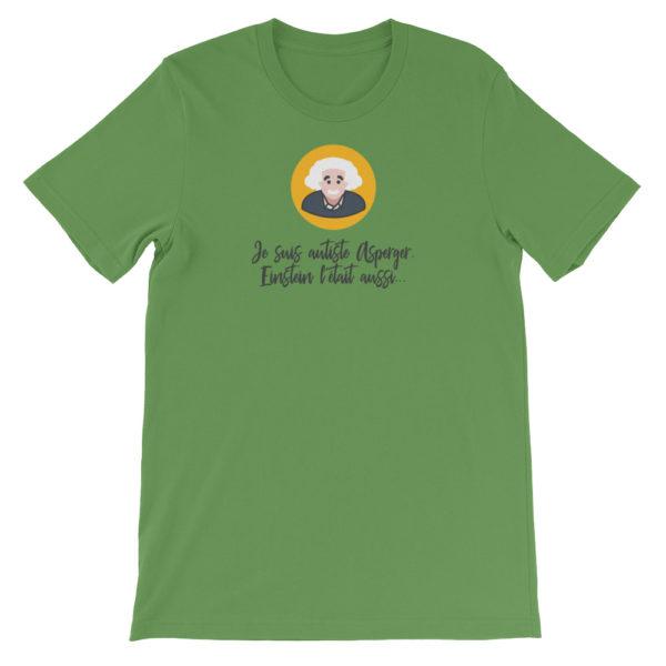 T-shirt Asperger vert
