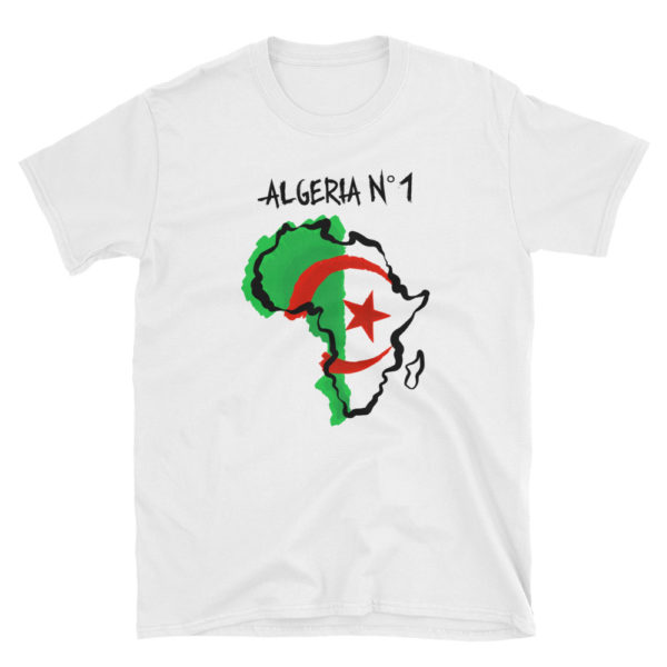 T-shirt ALGERIA N°1 - Tee shirt foot CAN