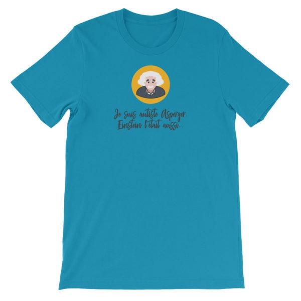 T-shirt Asperger bleu