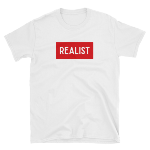 T-shirt REALIST - T-shirt fashion mode blanc