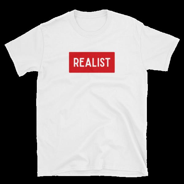 T-shirt REALIST - T-shirt fashion mode blanc