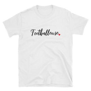 T-shirt Footballeuse pour femme