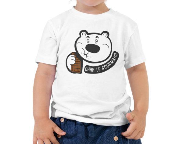 T-shirt garçon - Ohhh le gourmand - Nounours