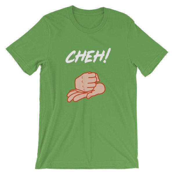 T-shirt Cheh ! homme / femme couleur vert