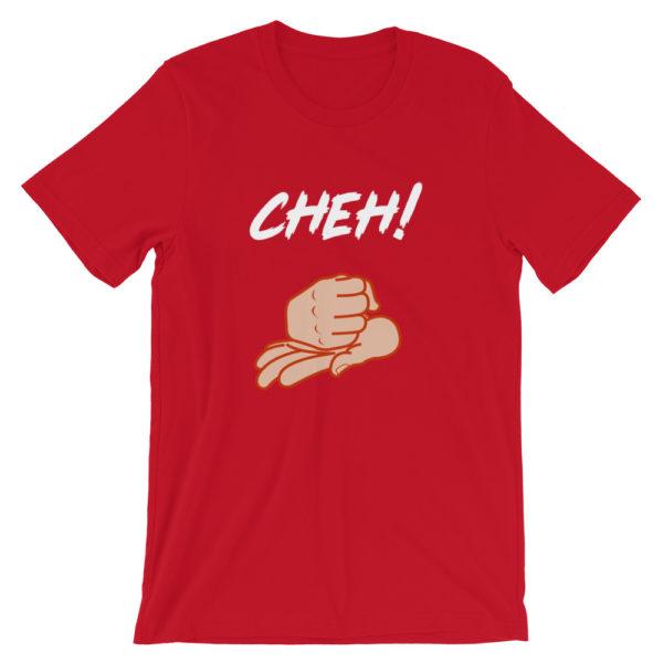 T-shirt Cheh ! homme / femme couleur rouge