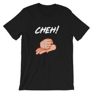 T-shirt Cheh ! homme / femme couleur noir