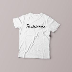 T-shirt Parisienne pour femme