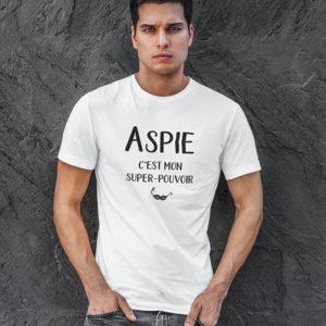 T-shirt ASPIE, c'est mon super-pouvoir