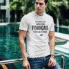 Tee-shirt Je ne suis pas parfait mais je suis Français - T-shirt blanc homme