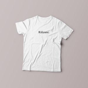 Tee-shirt Râleuse pour femme