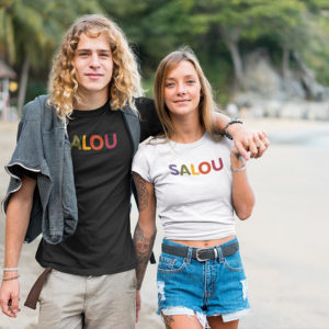 T-shirt SALOU multicolore