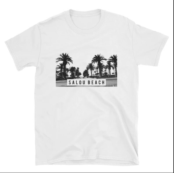 T-shirt SALOU BEACH couleur blanc - T-shirt de mode