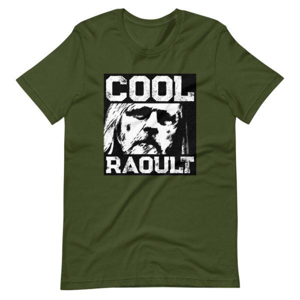 T-shirt Cool Raoult couleur vert olive