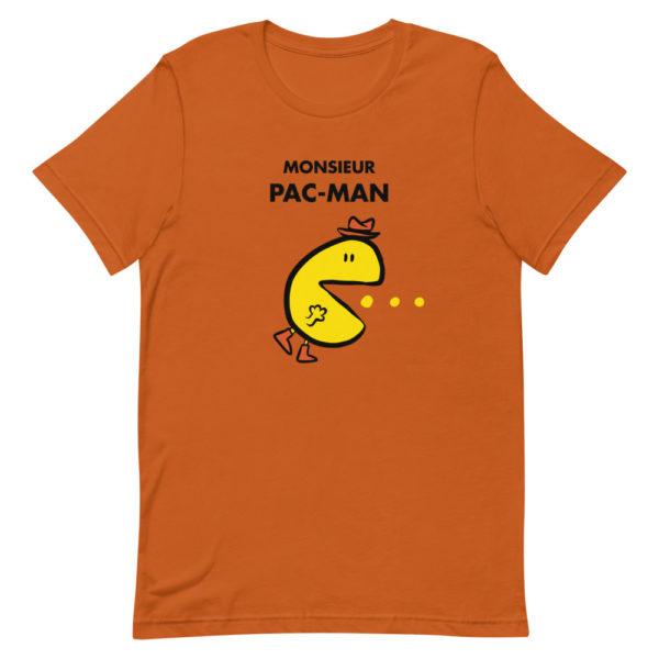 T-shirt Monsieur PAC-MAN - Tee-shirt orange Homme / Femme