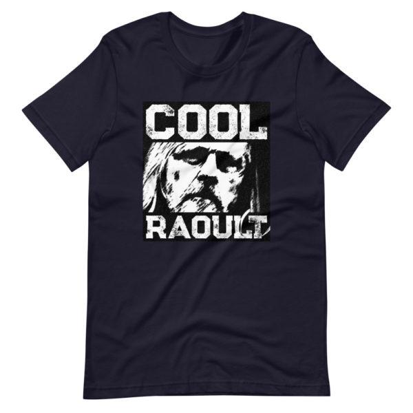T-shirt Cool Raoult bleu marine