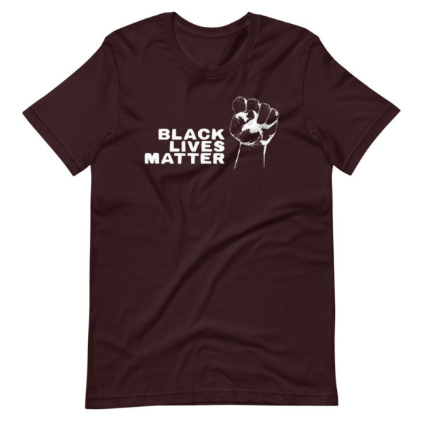 T-shirt Black Lives Matter - Tee Shirt Bordeaux Homme / Femme