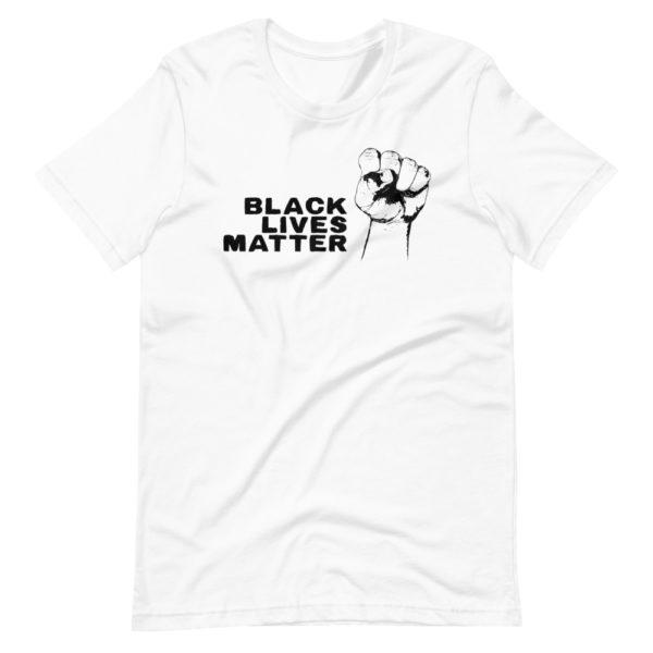 Black Lives Matter T-shirt Blanc pour Homme / Femme