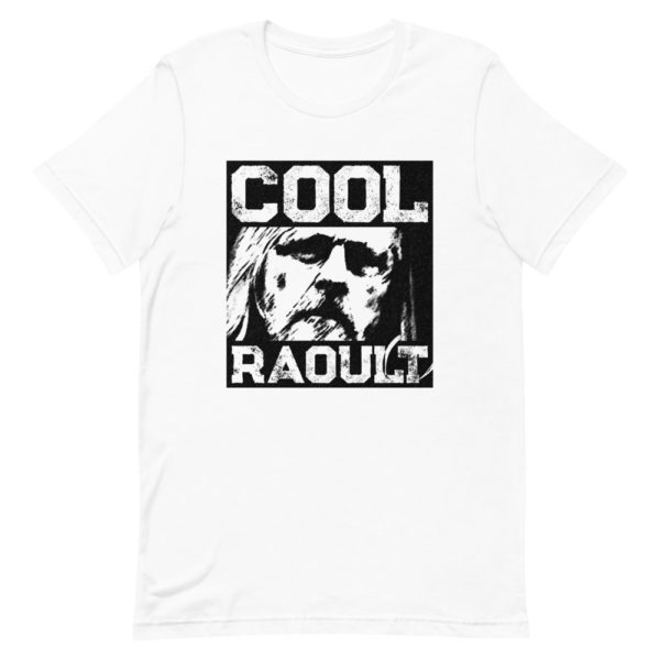 T-shirt Cool Raoult blanc