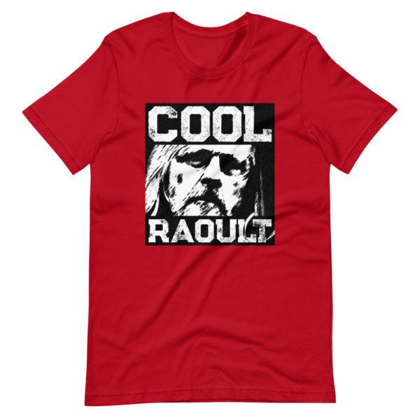 T-shirt Cool Raoult couleur rouge