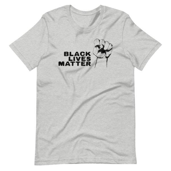 Black Lives Matter T-shirt Gris pour Homme / Femme