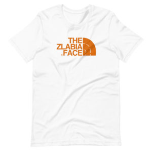 T-shirt humour The Zlabia Face