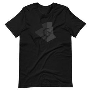 Dark T-Shirt Algérie - Drapeau Algérien